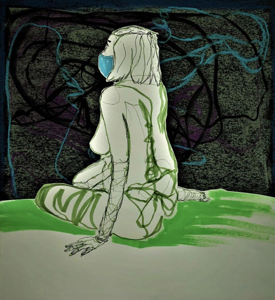 A digital mural by James McCutchen