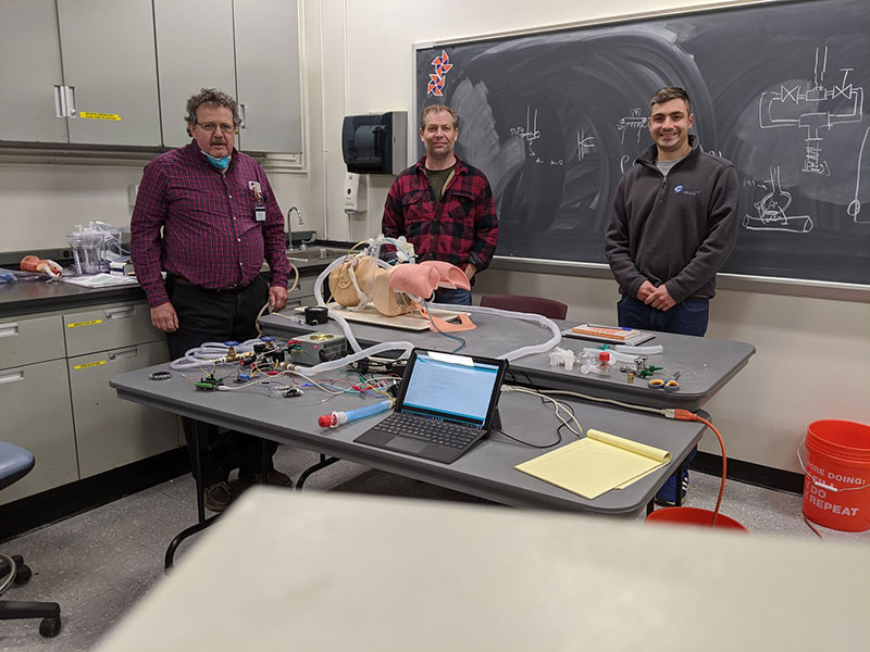Transforming Spare Parts into a Ventilator